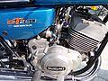 Suzuki GT250 blue detail engine.jpg