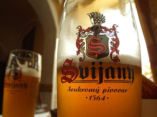 Bière du nord de la République Tchèque, à 100 km de Prague.
