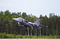Swedish Air Force JAS-39 Gripen (18346739628).jpg