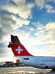 Swiss International Air Lines (SWISS) Airplane Tail - Feb 2013.jpg
