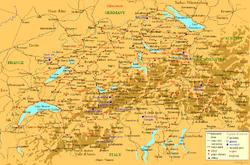 İsviçre haritası