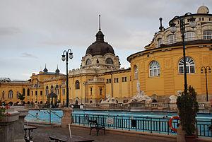 Győző Czigler - Széchenyi Bath, 1913