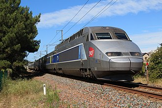 SNCF - TGV Atlantique - french high-speed train.