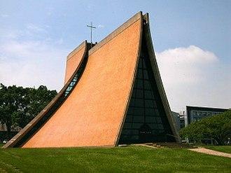 Luce Memorial Chapel - Image: THU Luce Memorial Chapel
