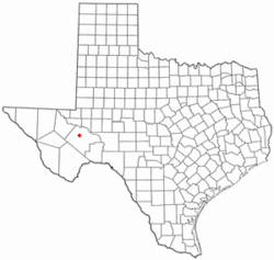 Location of Fort Stockton, Texas