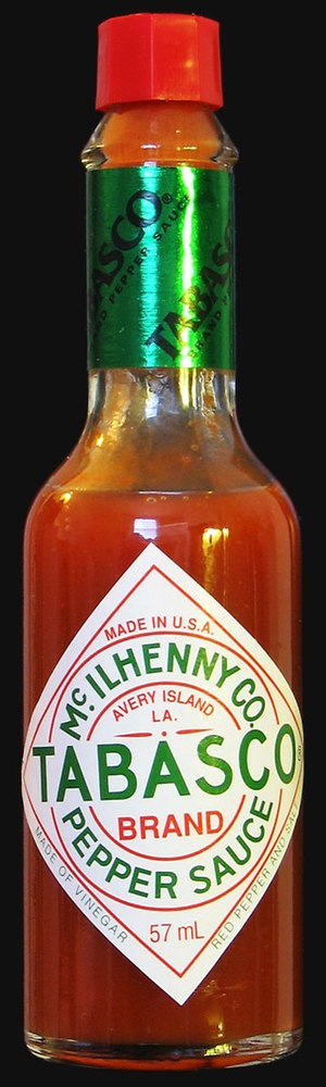 Hot sauce - Original Tabasco red pepper sauce