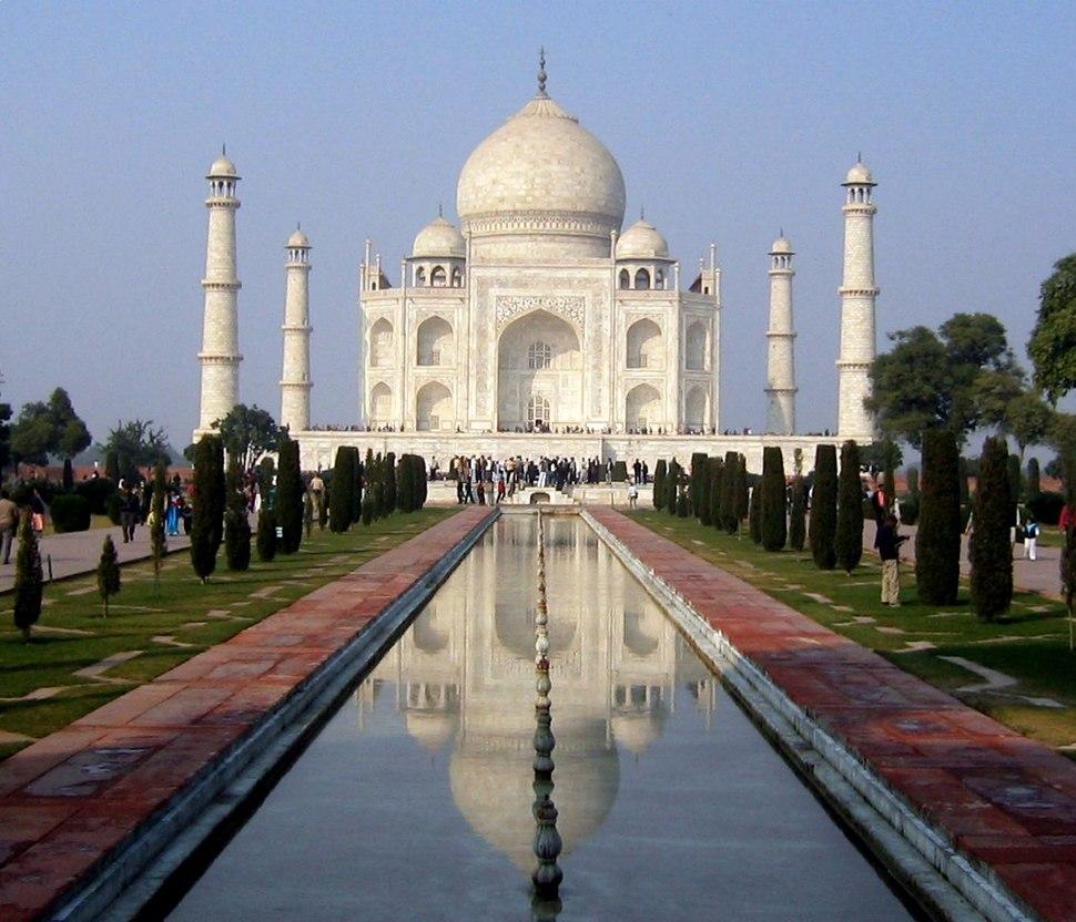 Taj Mahal (south view, 2006)