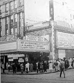 Teatro Puerto Rico - 1954