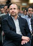 Tehran Mayor Mohammad Bagher Ghalibaf in opening of Khaje Abdullah Ansari Metro Station 04.jpg