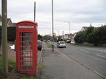 Telephone box, Upper Marlbrook - geograph.org.uk - 1168718.jpg