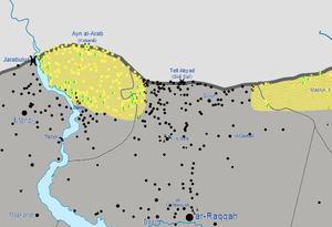 Tell Abyad region on May 31, 2015