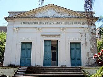 Auguste Comte - Positivist temple in Porto Alegre