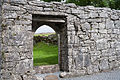 Termon, County Clare, Teampall Chrónáin North Wall Doorway Inside 2015 09 03.jpg
