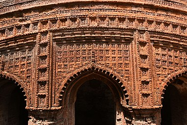 Terracotta from the wall of Chota Anhik Temple of Puthia Temple Complex by PRG 02.jpg