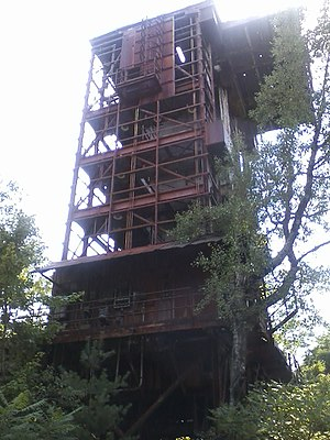 Malta Test Station - Image: Test gantry