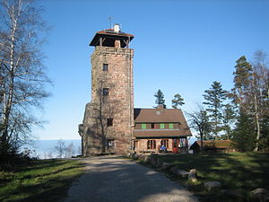 Loffenau - tourist attraction Teufelsmühle