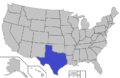 Texas Intercollegiate Athletic Association map.png