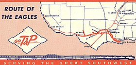Image illustrative de l'article Texas and Pacific Railway