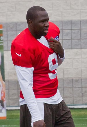 Thad Lewis - Lewis with the Cleveland Browns in 2012