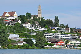 Skyline of Thalwil