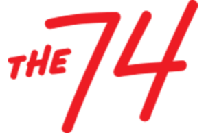 The 74 - Image: The 74 logo