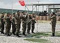 The Afghan National Army band plays the National Anthem of Afghanistan and Turkey (4699890688).jpg