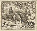The Badger Hurries to Warn Renard of the Lion's Intention from Hendrick van Alcmar's Renard The Fox MET DP837730.jpg