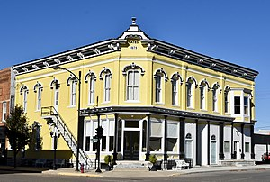 National Register of Historic Places listings in Monroe County, Iowa - Image: The Bates Building