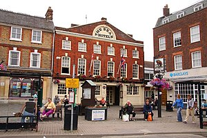 Oxfordshire - Wantage Market Place