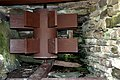 The Click Mill (detail of mill wheel) - geograph.org.uk - 520721.jpg