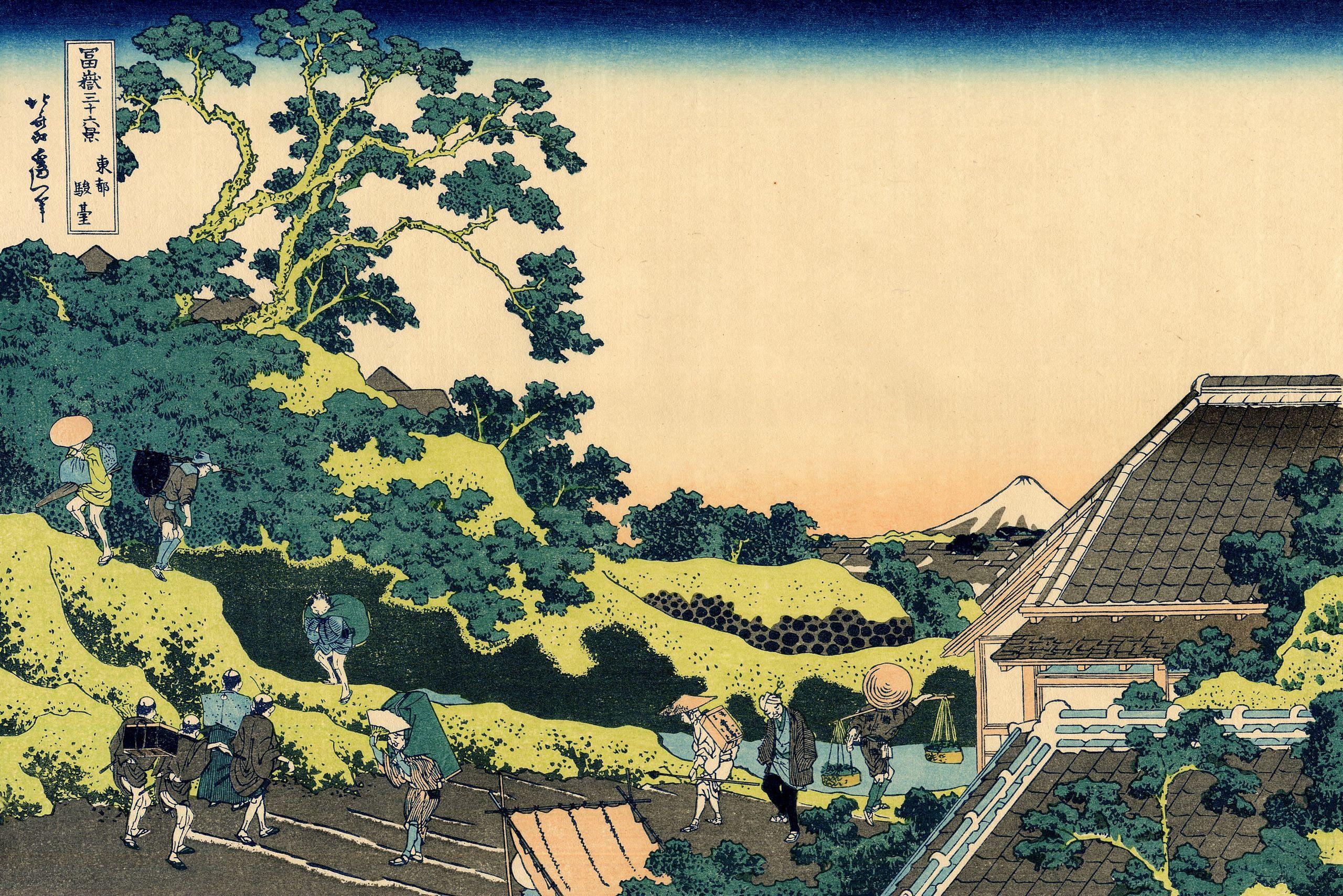 Тридцать шесть видов Фудзи (Хокусай)