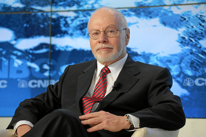 Elliott isn't shy about telling the Jack Dorseys of the world how to tie their Allbirds World Economic Forum,The Global Financial Context Paul Singer,CC BY-SA 2.0