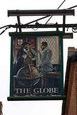 The Globe pub sign - geograph.org.uk - 1268158