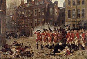 1780 in Great Britain - The Gordon Riots, from a painting by John Seymour Lucas