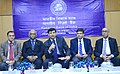 The Governor of Reserve Bank of India, Dr. Raghuram G. Rajan along with the Deputy Governors, addressing a press conference after the RBI Central Board meeting, in Kolkata on December 11, 2015.jpg