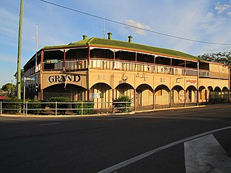 The Grand Hotel, Hughenden - The Grand Hotel, 2014