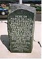 The La Vérendrye brothers. Historical marker at Fort Pierre, South Dakota.jpg
