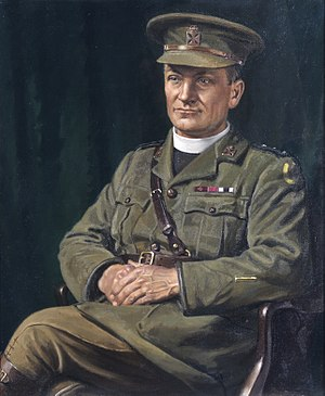 Theodore Hardy -  Posthumous portrait (1919) by Howard Somerville