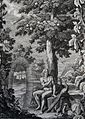 The Phillip Medhurst Picture Torah 7. Adam giving names. Genesis cap 2 vv 16-17. Sperling.jpg