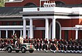 The President, Smt. Pratibha Devisingh Patil reviewing the Passing Out Parade Spring Term 2011, Indian Military Academy, at Dehradun, Uttarakhand on June 11, 2011.jpg
