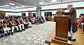 The Prime Minister, Shri Narendra Modi addressing at the presentation ceremony of the National Bravery Awards 2017, in New Delhi on January 24, 2018.jpg