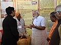 The Prime Minister, Shri Narendra Modi visiting the Pashudhan Arogya Mela, at Shahanshahpur, Varanasi, Uttar Pradesh.jpg