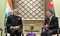The Prime Minister, Shri Narendra Modi with the King of Jordan His Majesty Abdullah II Bin Al-Hussein, at Amman, Jordan on February 09, 2018 (4).jpg