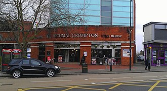 Richmal Crompton - The Richmal Crompton, a Wetherspoons pub in Bromley named after the local author