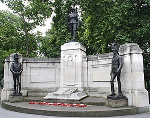 Grosvenor Gardens, London - The Rifle Brigade Memorial, Grosvenor Gardens