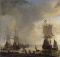 The Ship-yard in Amsterdam (Reinier Nooms) - Nationalmuseum - 17547.tif