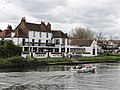 The Swan Hotel near Staines Bridge on the Thames - panoramio.jpg