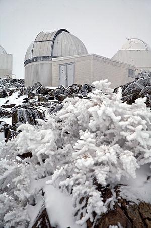 TRAPPIST - Image: The TRAPPIST telescope at La Silla