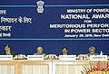 The Union Power Minister, Shri Sushilkumar Shinde and the Minister of State of Power, Shri Bharatsinh Solanki at the National Awards ceremony for Meritorious Performance in Power Sector, in New Delhi on January 29, 2010.jpg