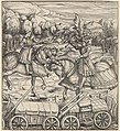 The White King Learning to Enclose a Camp with Wagons, from Der Weisskunig MET DP834066.jpg